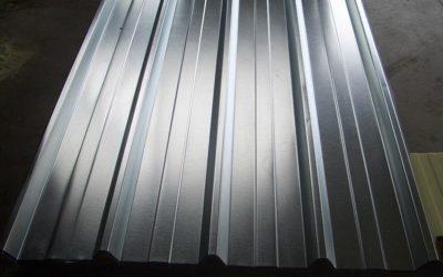 Lastre grecate in alluminio per coperture industriali e civili