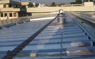 Eliminazione della condensa dalle coperture metalliche